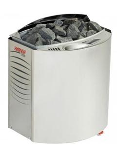Печка за сауна Harvia Vega Combi е комбинирана електрическа печка с парогенератор за сауна
