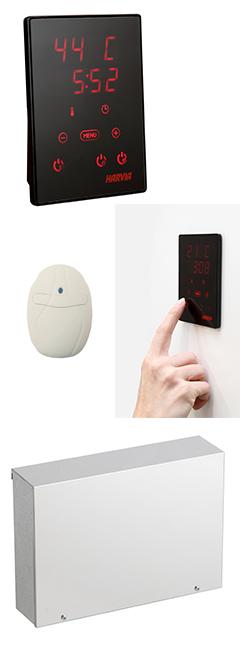 Контролно табло с тъч-скрийн дисплей HARVIA Xenio Infra за инфраред/инфрачервени сауни
