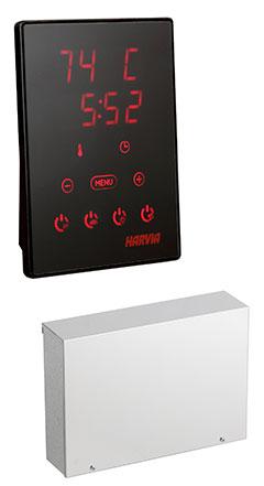 Контролно табло за управление на комбинирана печка с парогенератор за сауна