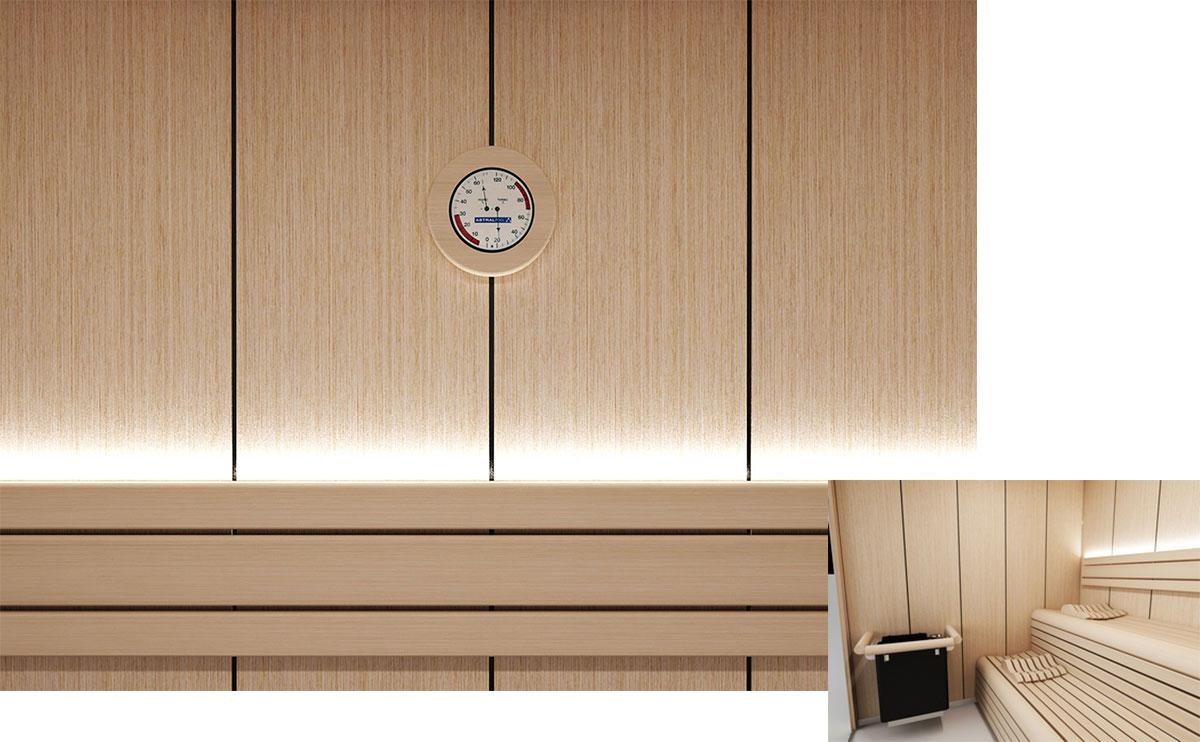 Луксозна сглобяема финландска сауна модел Innsbruck