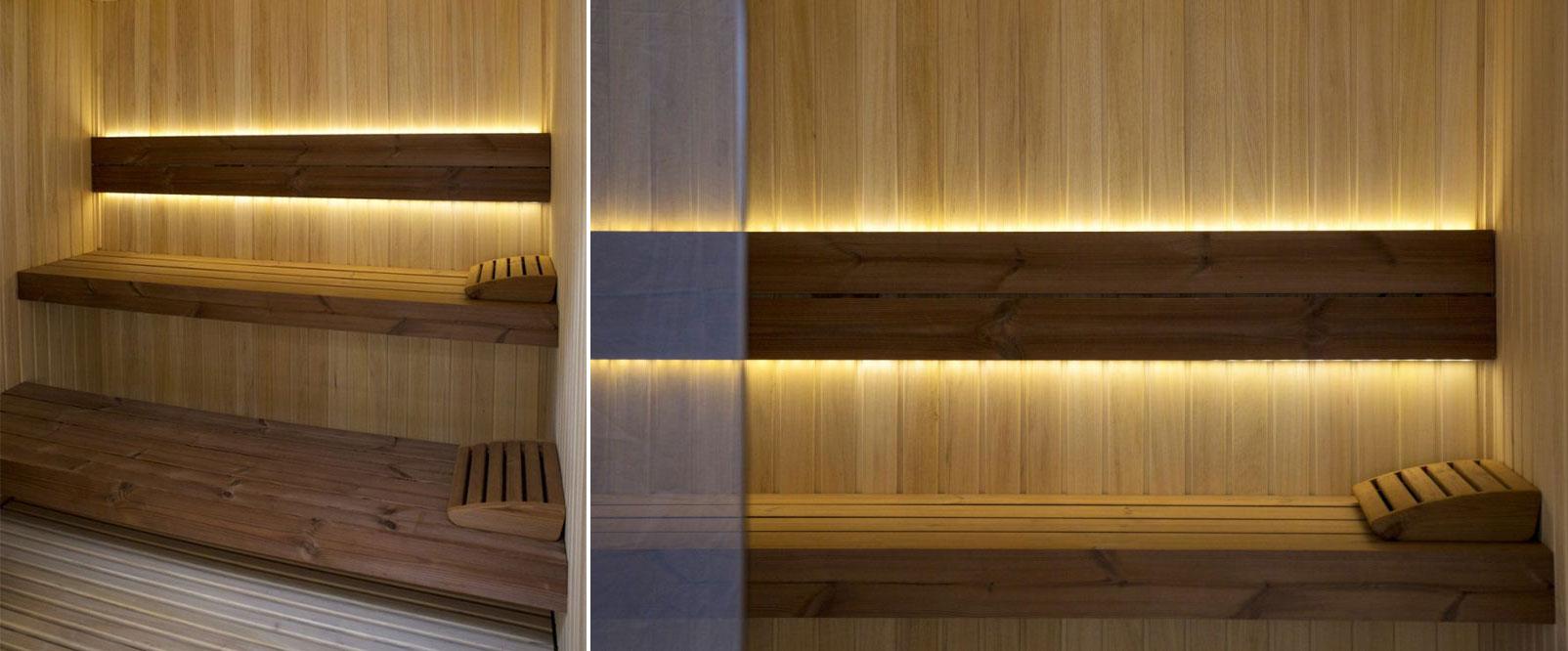 Луксозна сглобяема финландска сауна модел Select Abachi