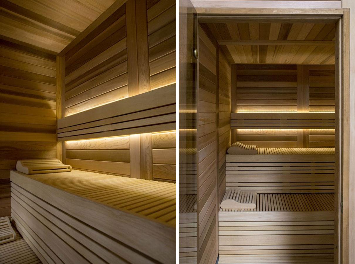 Луксозна сглобяема финландска сауна модел Select Cedar