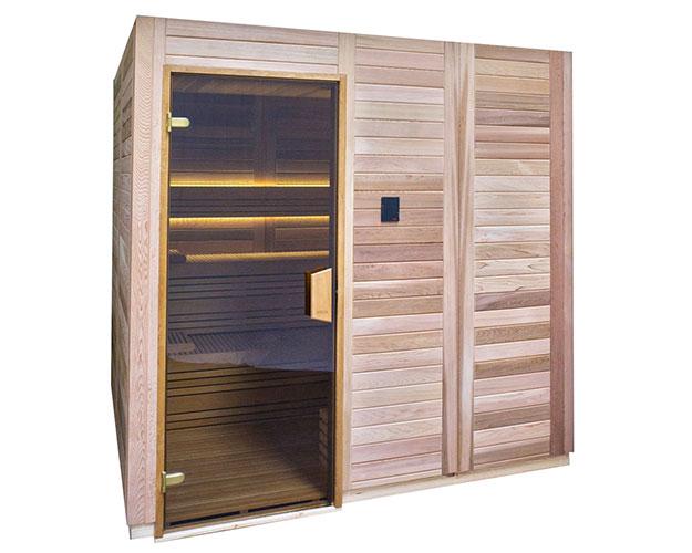 Луксозна сглобяема финландска сауна Select Cedar